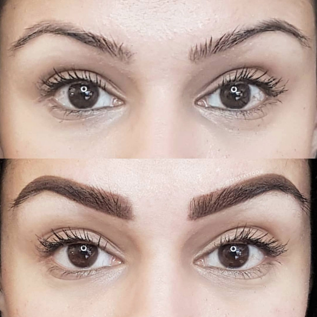 Vancouver Eyebrow Microblading Ombre Powder Brows Combination Brows